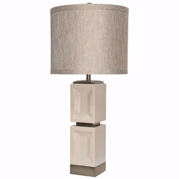 Picture of Bozeman Ceramic and Metal Table Lamp