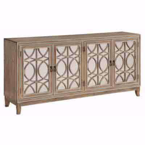 Picture of Four Door Media Credenza