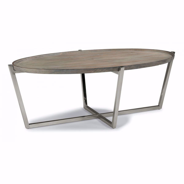 Picture of Platform Oval Cocktail Table