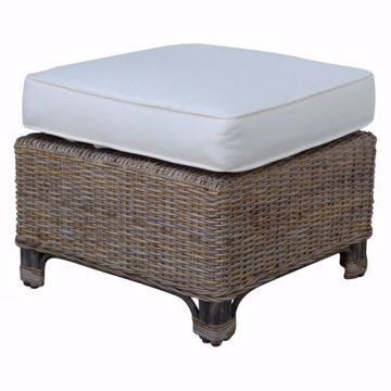 Picture of Exuma Ottoman with Cushion