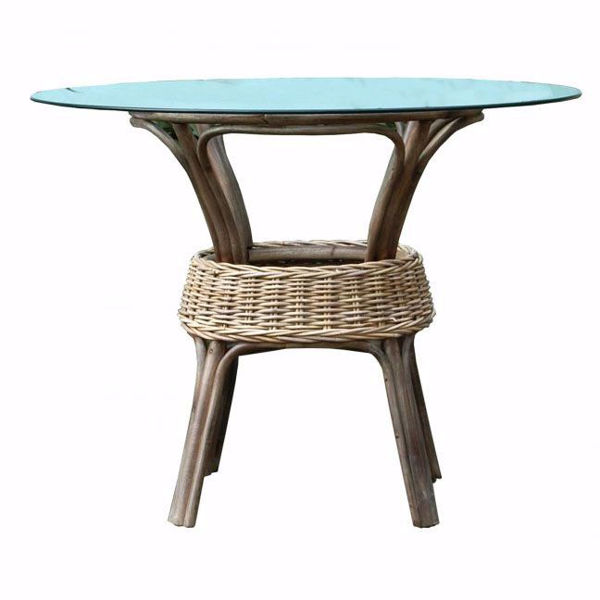 Picture of Exuma Glass Top Dining Table