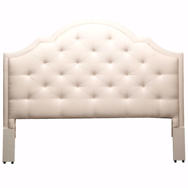 Picture of Barcelona Upholstered Bonnet Queen Headboard