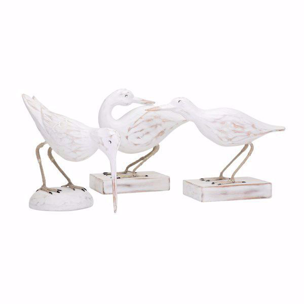 Picture of Coastal Carved Wood Seabirds Set