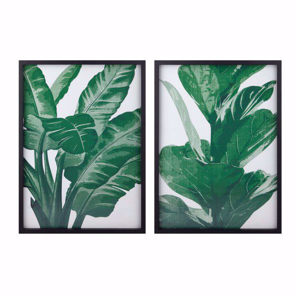 Picture of Emerald Wall Decor Print Set