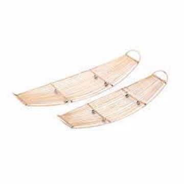 Picture of Apache Bamboo Tray Set