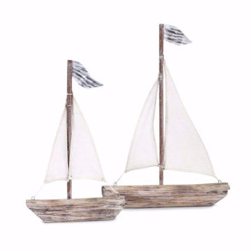 Picture of Wooden Sailboats Set