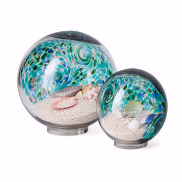 Picture of Russell Art Glass Globes