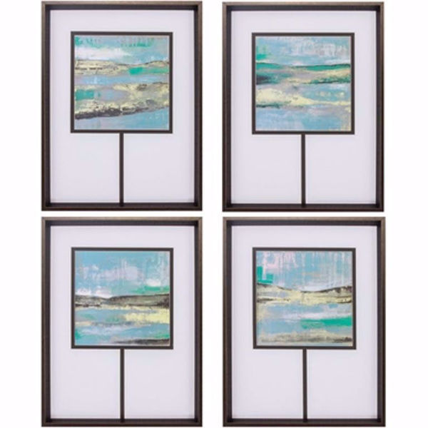 Picture of Cool Horizon Set of 4 Prints