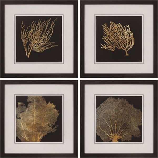 Picture of Coral Wall Art Set