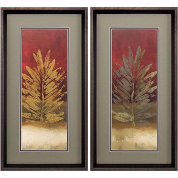 Picture of Tropical Leaves Wall Art