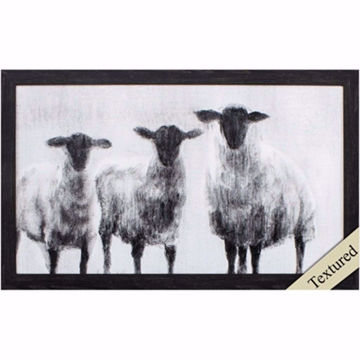 Picture of Rustic Sheep Wall Art