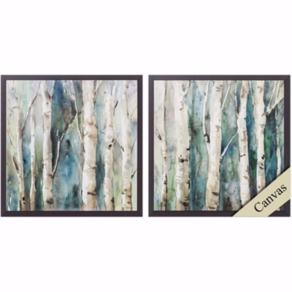 Picture of River Birch Wall Art Set