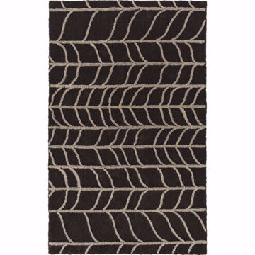Picture of Pesario Chocolate 5x7 Area Rug