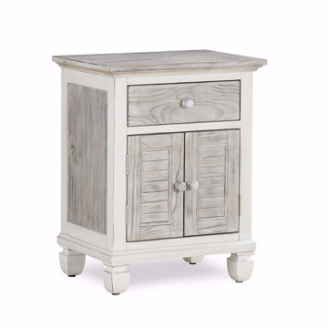 Picture of Islamorada 1 Drawer 2 Door Nightstand
