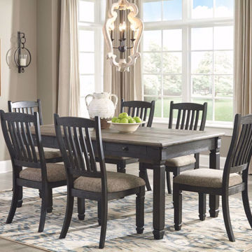 Picture of Antiquity Grey 7 Piece Dining Room Set