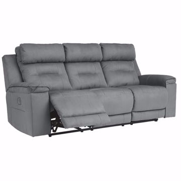 Picture of Trenton Sofa with Power Headrest and Lumbar Support