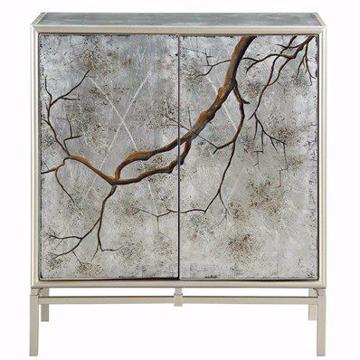 Picture of Silvermist Winter Forest 2 Door Cabinet