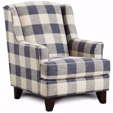 Picture of Iris Plaid Accent Chair