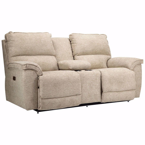 Picture of Norris Console Power Loveseat with Power Headrest
