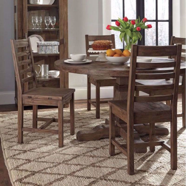 Picture of Caleb Round 5 Piece Dining Room Set