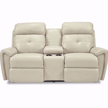Picture of Douglas Power Reclining Console Loveseat