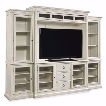 Picture of Summer Hill 4 Piece Entertainment Center