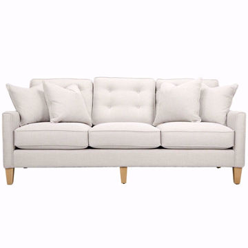 "Picture of Urban Options 83"" 3 Cushion Sofa"