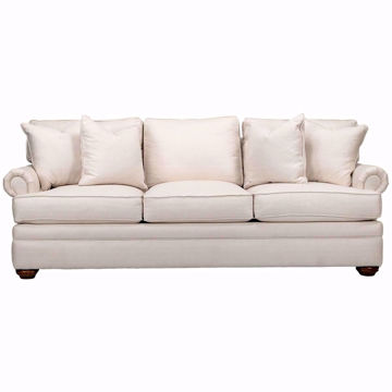 Picture of Kensington Panel Arm Customizable Sofa
