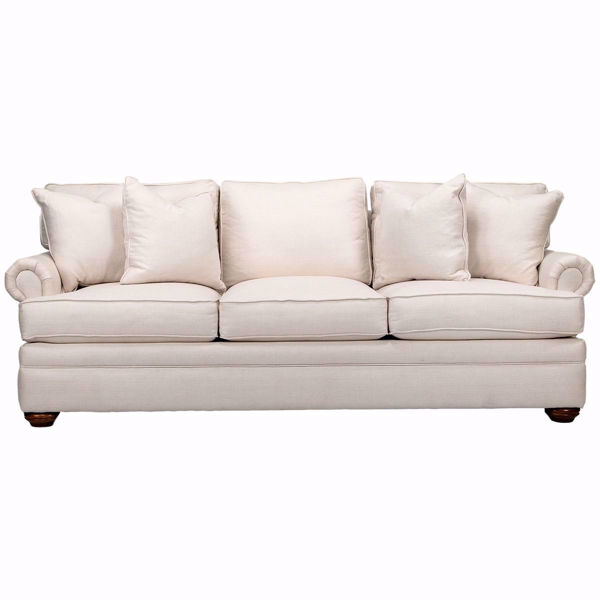 Kensington Panel Arm Customizable Sofa