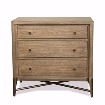 Picture of Sophie 3 Drawer Nightstand