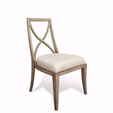 Picture of Sophie X-Back Upholstered Dining Chair