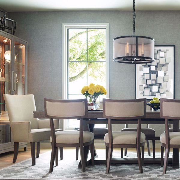 Picture of Highline 7 Piece Trestle Dining Set