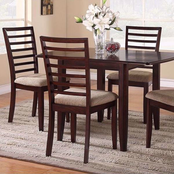 Picture of Brown Stone 5 Piece Dining Set