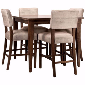 Picture of Midtown Tall 5 Piece Square Dining Set
