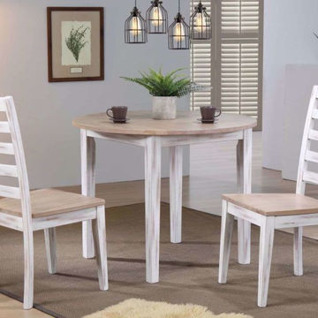Picture of Prescott Round 3 Piece Dining Room Set
