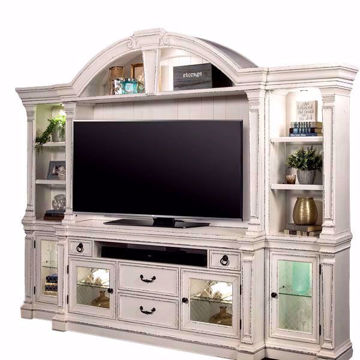Picture of Lancaster 4 Piece Entertainment Center