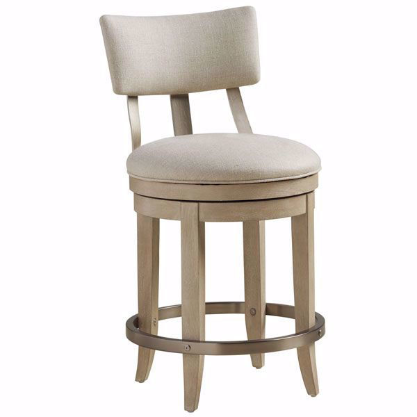 Picture of Cliffside Upholstered Swivel Stool