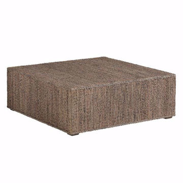 Picture of Decker Woven Cocktail Ottoman