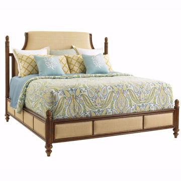 Picture of Orchid Bay Upholstered Queen Bed