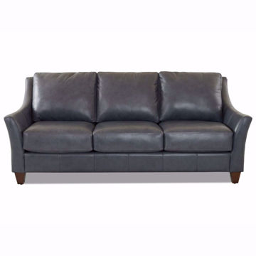 Picture of Ella Indigo Leather Sofa