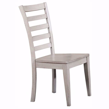 Picture of Carmel Gray Ladderback Chair