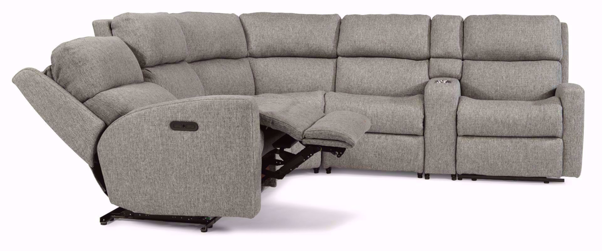 Picture of Catalina 6 Piece Sectional Sofa with  Console