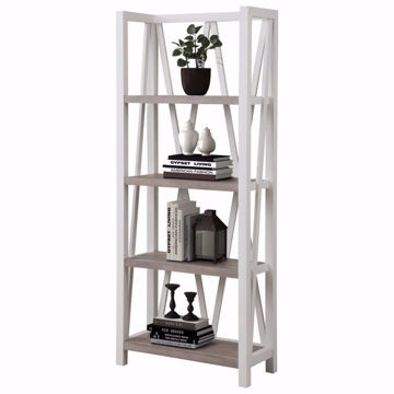 Picture of Americana Modern Cotton Etagere Bookcase