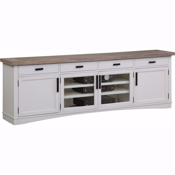 Picture of Americana Modern Cotton 92 in. TV Console