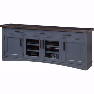 Picture of Americana Modern Denim 76 in. TV Console