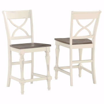Picture of Devonshire Grey Xback Barstool