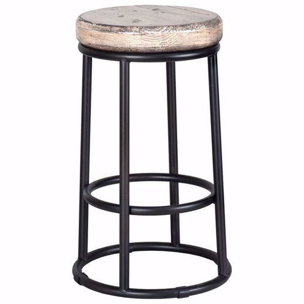 Picture of Jaden Antique White Counter Stool