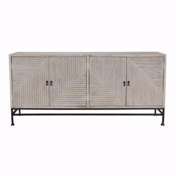 "Picture of Finn 72"" 4 Door Sideboard"