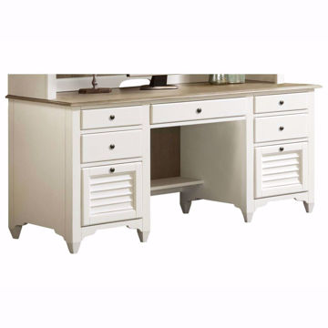 Picture of Myra Two Tone Credenza Desk