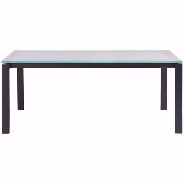 Picture of Hamilton Glass Top Dining Table